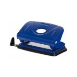 Perforator metalic, 12 coli, Office Products - albastru