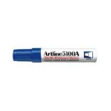 Whiteboard marker varf rotund, 5.0mm, corp metalic, ARTLINE 5100A