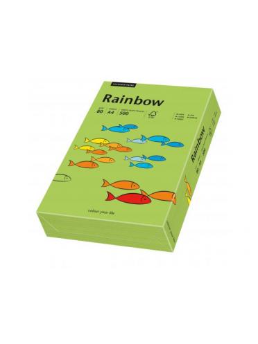 Hartie color pastel, A3, 160 gr/mp Rainbow