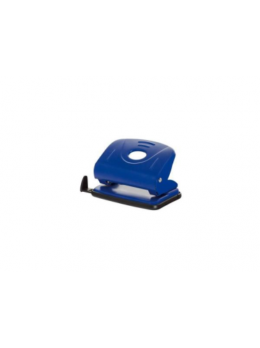 Perforator metalic, 25 coli, Office Products - albastru
